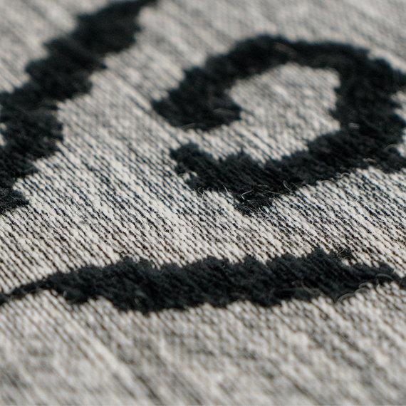 Kay Vintage vloerkleed - Ramble Lines Grijs/Zwart