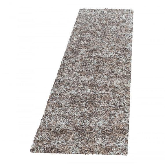 Adana Carpets Hoogpolige loper - Enjoy Beige