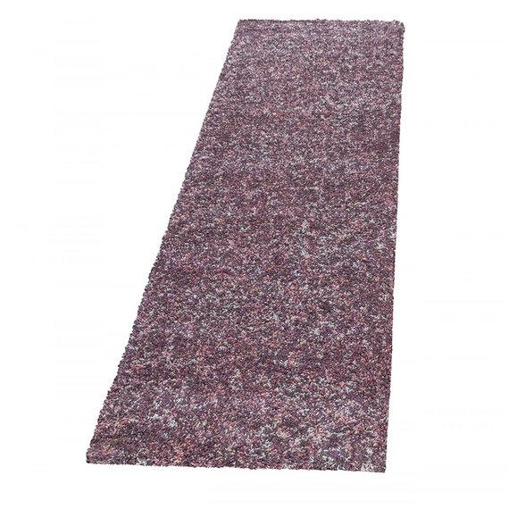 Adana Carpets Hoogpolige loper - Enjoy Roze