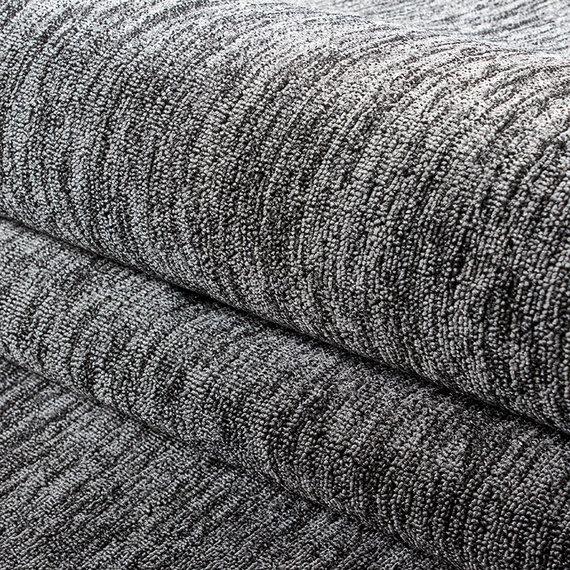 Adana Carpets Laagpolige loper - Nani Grijs
