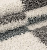 Adana Carpets Hoogpolige loper - Gala Turquoise