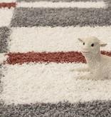 Adana Carpets Hoogpolige loper - Gala Terra