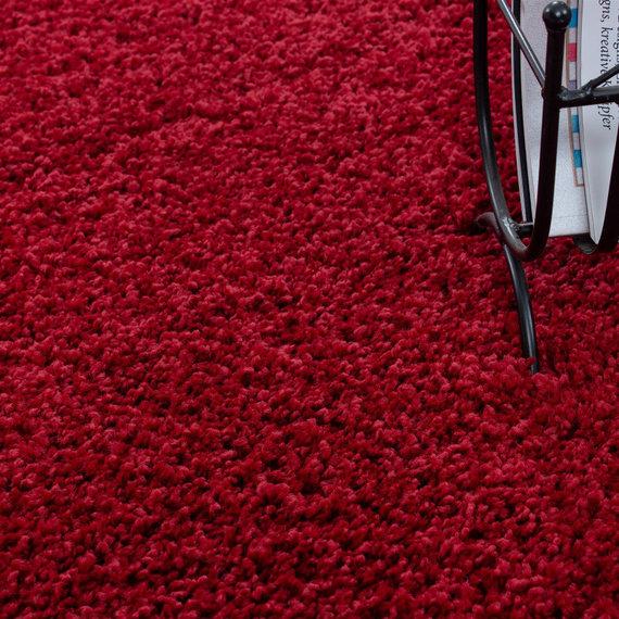 Adana Carpets Hoogpolige loper - Life Rood