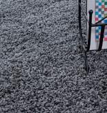 Adana Carpets Hoogpolige loper - Life Grijs