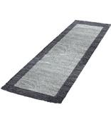 Adana Carpets Hoogpolige loper - Edge Grijs