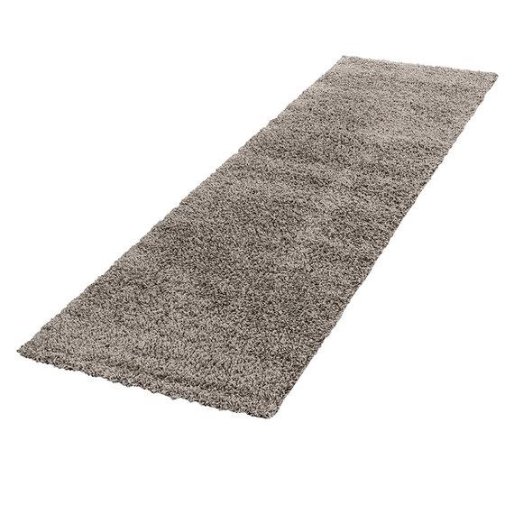 Adana Carpets Hoogpolige loper - Life Taupe