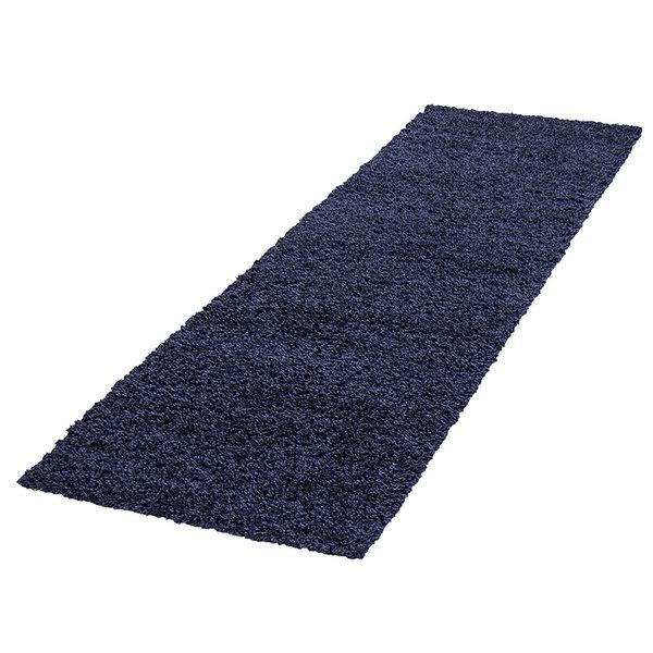 Hoogpolige loper - Life Blauw