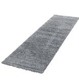 Adana Carpets Hoogpolige loper - Life Lichtgrijs