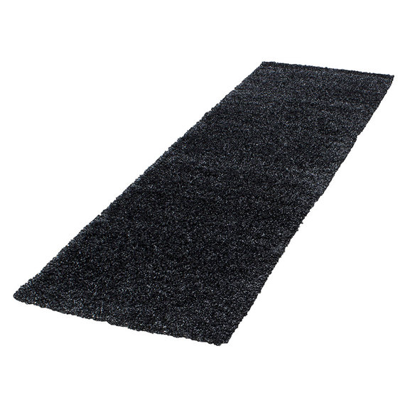 Adana Carpets Hoogpolige loper - Life  Antraciet