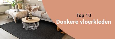 Top 10 Donkere vloerkleden