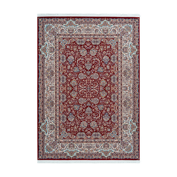 Kay Perzisch vloerkleed - Kwait Hawally Rood/Multicolor