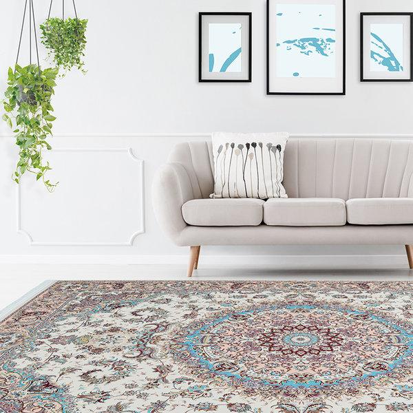 Perzisch vloerkleed - Kwait Salmiya Creme/Multicolor