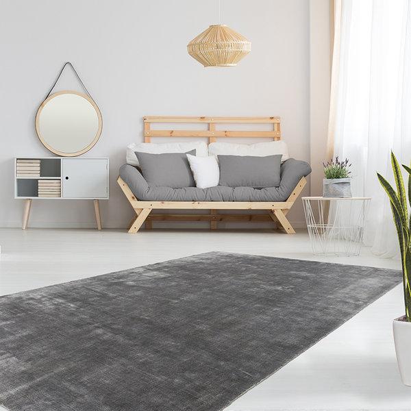 Modern vloerkleed - Nauru Yaren Grijs