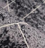 Kay Modern vloerkleed - Piemonte Miscela Antraciet/Creme