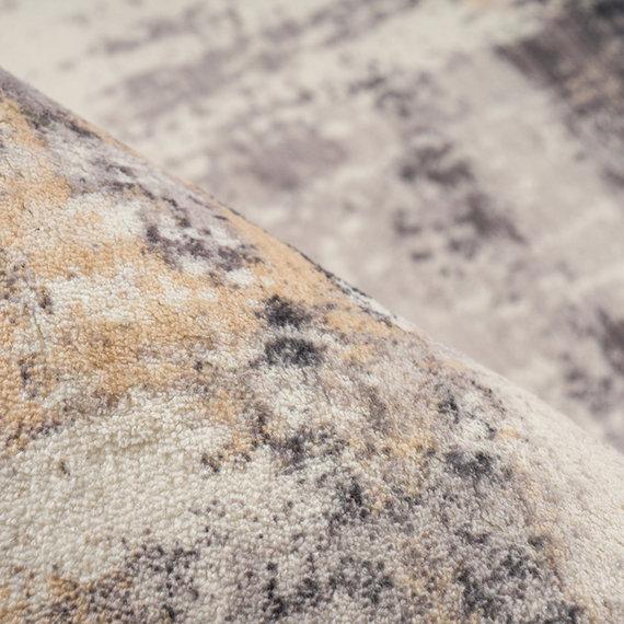 Kay Modern vloerkleed - Piemonte Offuscato Taupe/Creme