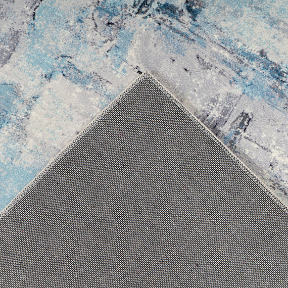 Kay Modern vloerkleed - Piemonte Sfocato Blauw