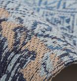 Kay Patchwork vloerkleed - Splendid Blauw
