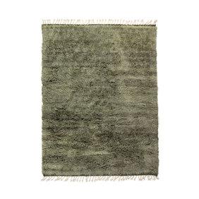 Brinker carpets Berber vloerkleed - Afghano Groen