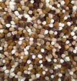 Brinker carpets Wollen vloerkleed - Alto Terra/Okergeel