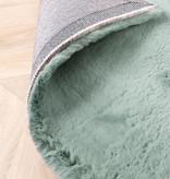 FRAAI Zacht Hoogpolig vloerkleed - Comfy Blauw/Groen