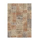 Antoin Carpets Patchwork vloerkleed - Ascott Terracotta 4848