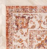 FRAAI Vintage vloerkleed - Spring Medaillon Terra Creme