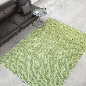 Kay Modern vloerkleed - Abstruse Diamond Groen