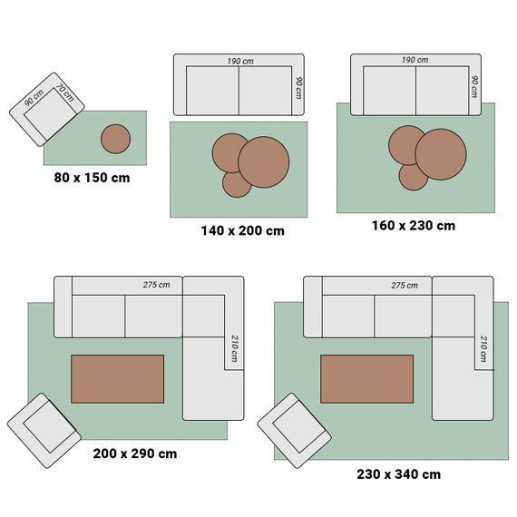 Antoin Carpets Patchwork vloerkleed - Albury 6444