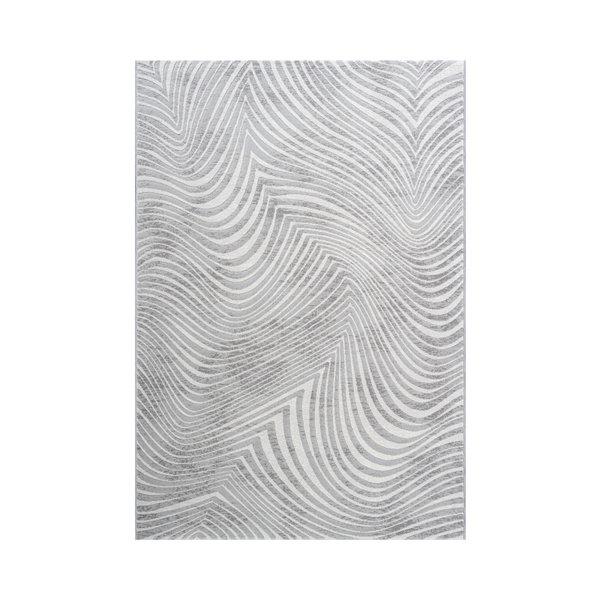 Modern vloerkleed - Alvie Grijs 6979