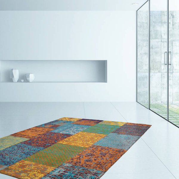 Patchwork vloerkleed - Splendid Multicolor