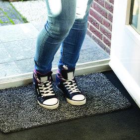 Lifa Living Droogloop deurmat - Magia Grijs