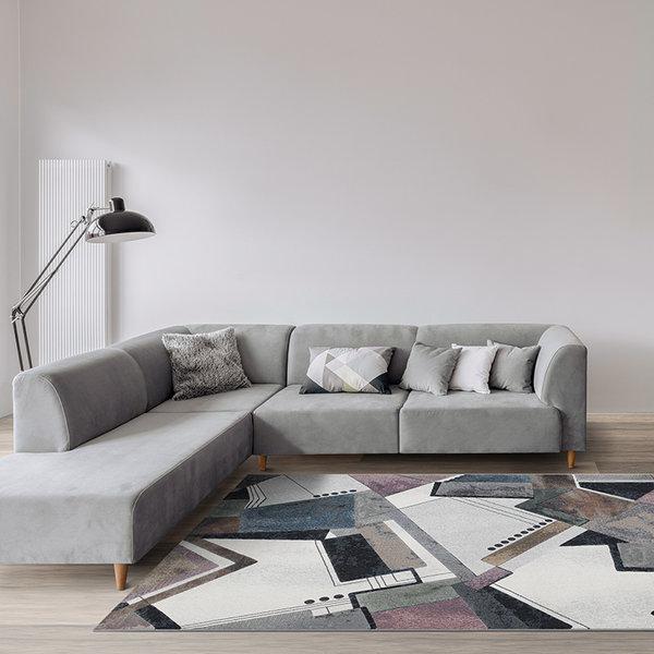 Modern vloerkleed - Alcester Multicolor 6626