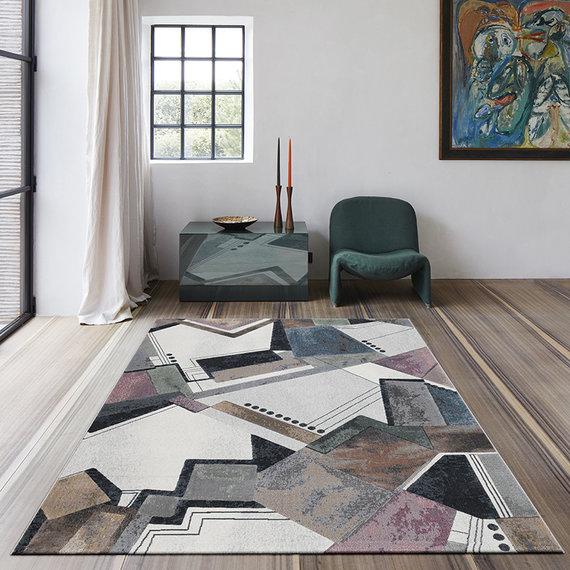 Antoin Carpets Modern vloerkleed - Alcester Multicolor 6626