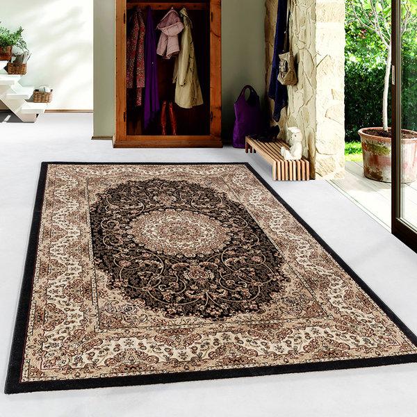 Perzisch vloerkleed - Kashmir Zwart 2606