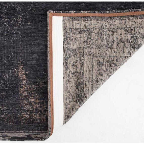 Louis de Poortere Vintage vloerkleed - The Fading world Mineral Black 8263