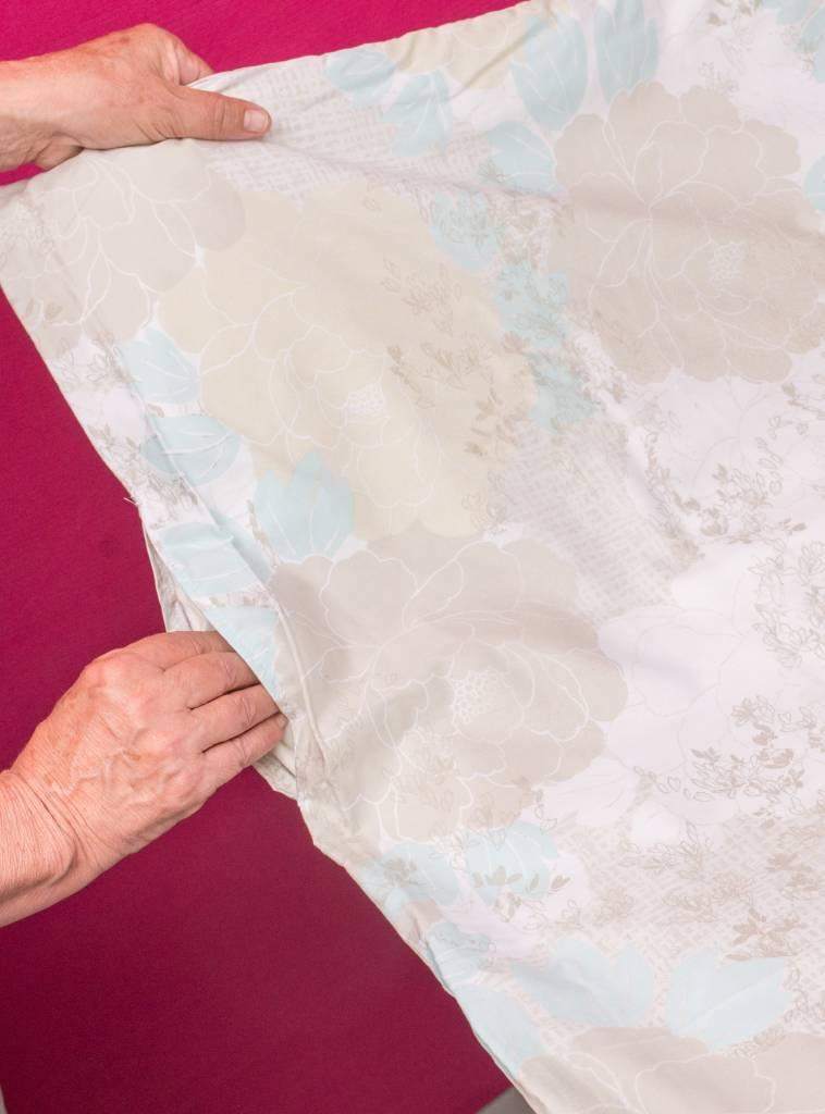 Sofiben Collection Sofiben dekbedovertrek met rits Rosalina, Percale katoen, afmeting  140 x 220 met 1 kussensloop