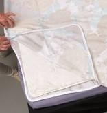 Sofiben Collection Sofiben dekbedovertrek met rits Rosalina, Percale katoen, afmeting  200 x 200 cm met 2 kussenslopen