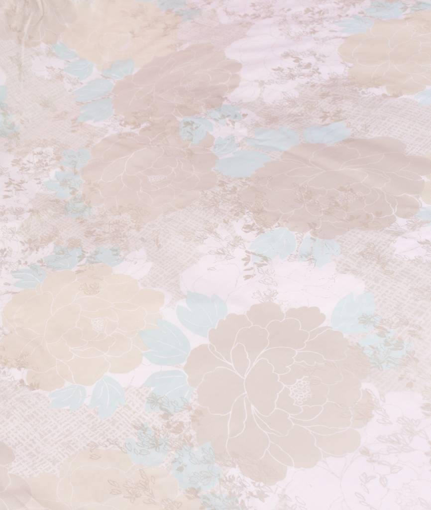 Sofiben Collection Sofiben dekbedovertrek met rits Rosalina, Percale katoen, afmeting 240 x 220 cm. met 2 kussenslopen