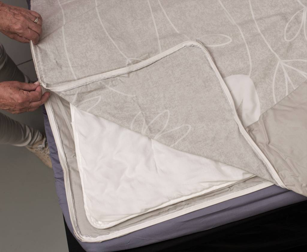 Sofiben Collection Sofiben Collection Bluma, Percale katoen, afmeting  200 x 220 cm. met 2 kussenslopen