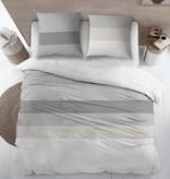 Sofiben Collection Sofiben dekbedovertrek met rits Shifra, 220TC katoensatijn, 140 x 220 cm  met 1 kussensloop