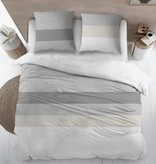 Sofiben Collection Sofiben dekbedovertrek met rits Shifra, 220TC katoensatijn, 240 x 200 cm  met 2 kussenslopen