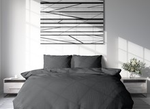 Sofiben Dark gray,  240 x 220 cm