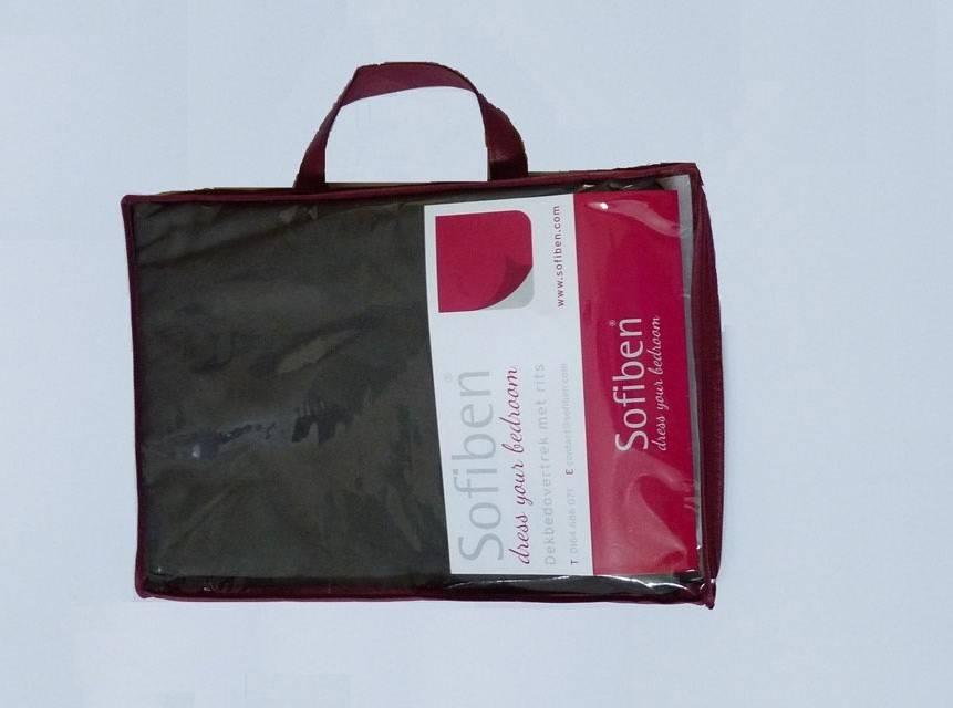 Sofiben Collection hoeslaken met split Taupe