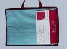 Sofiben Collection Hoeslaken met split lichtblauw