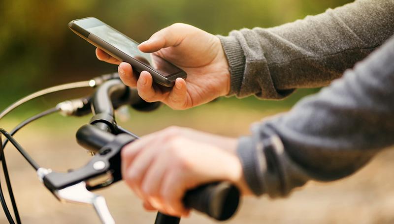 Fahrrad_Smartphone