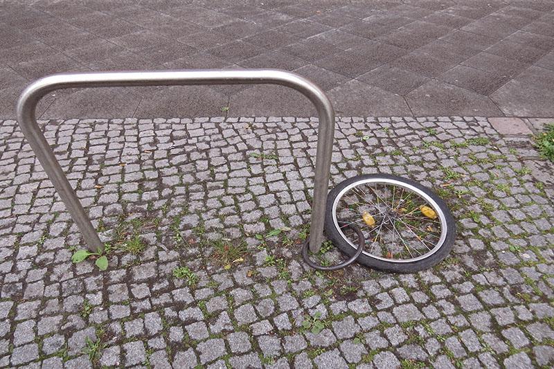 Fahrrad wurde gestohlen