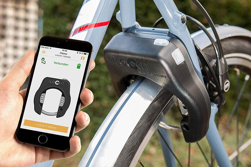 Bike Lock with Alarm anti theft
