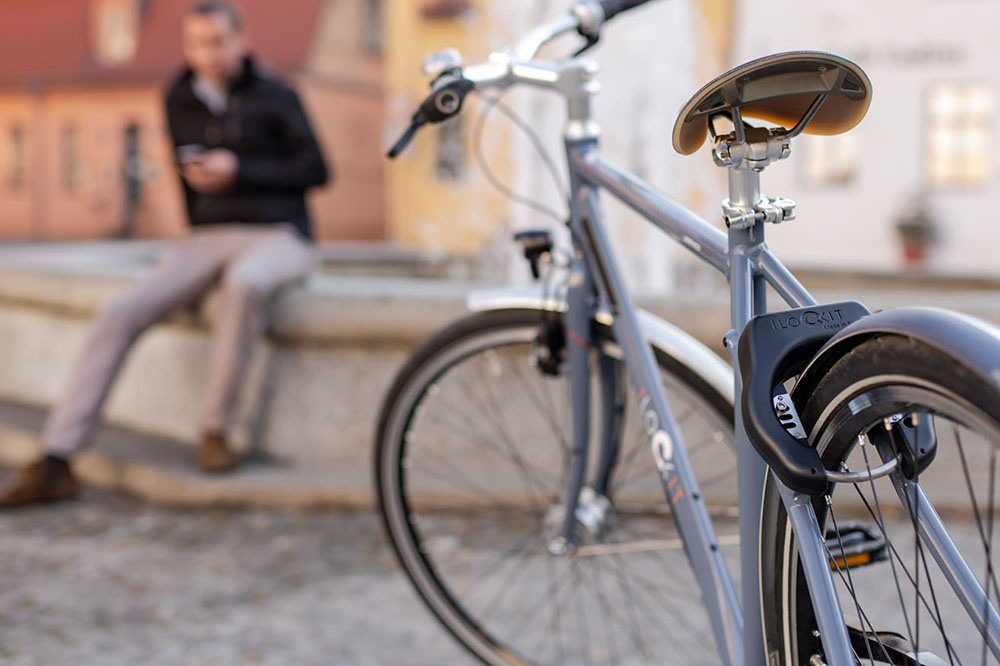 Bluetooth Schloss I LOCK IT-Bluetooth Fahrradschloss schlüssellos per App steuern
