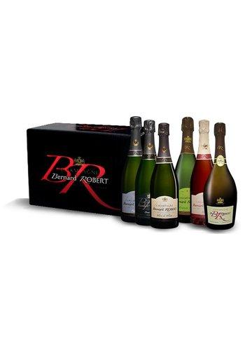 Bernard Robert Selectie van 6 champagnes