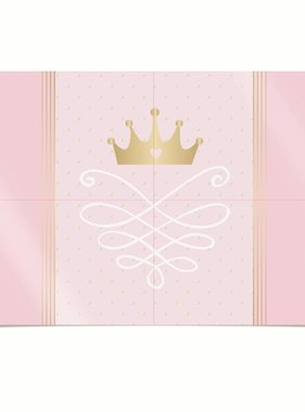 Jollyjoy PRINCESS KINGDOM 4-PIECE POSTER
